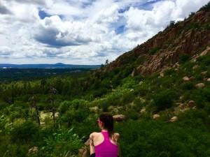 Liz on Rocks